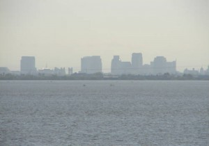 smoggy Sac skyline - web